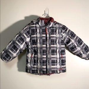 LL bean kids 5/6 puffy jacket